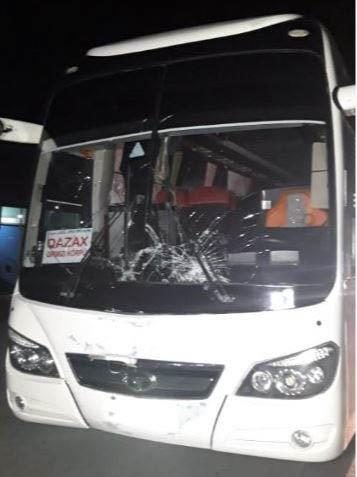 Ucarda avtobus piyadanı vuraraq öldürdü