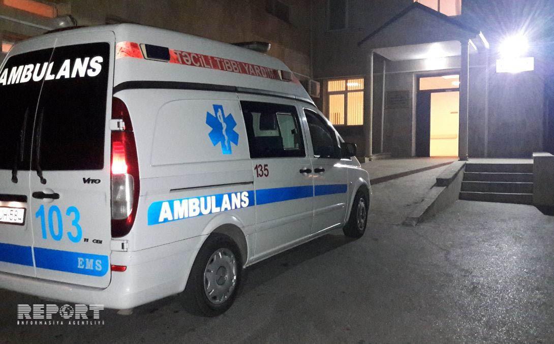 Bakıda 29 yaşlı gənci avtomobil vurdu