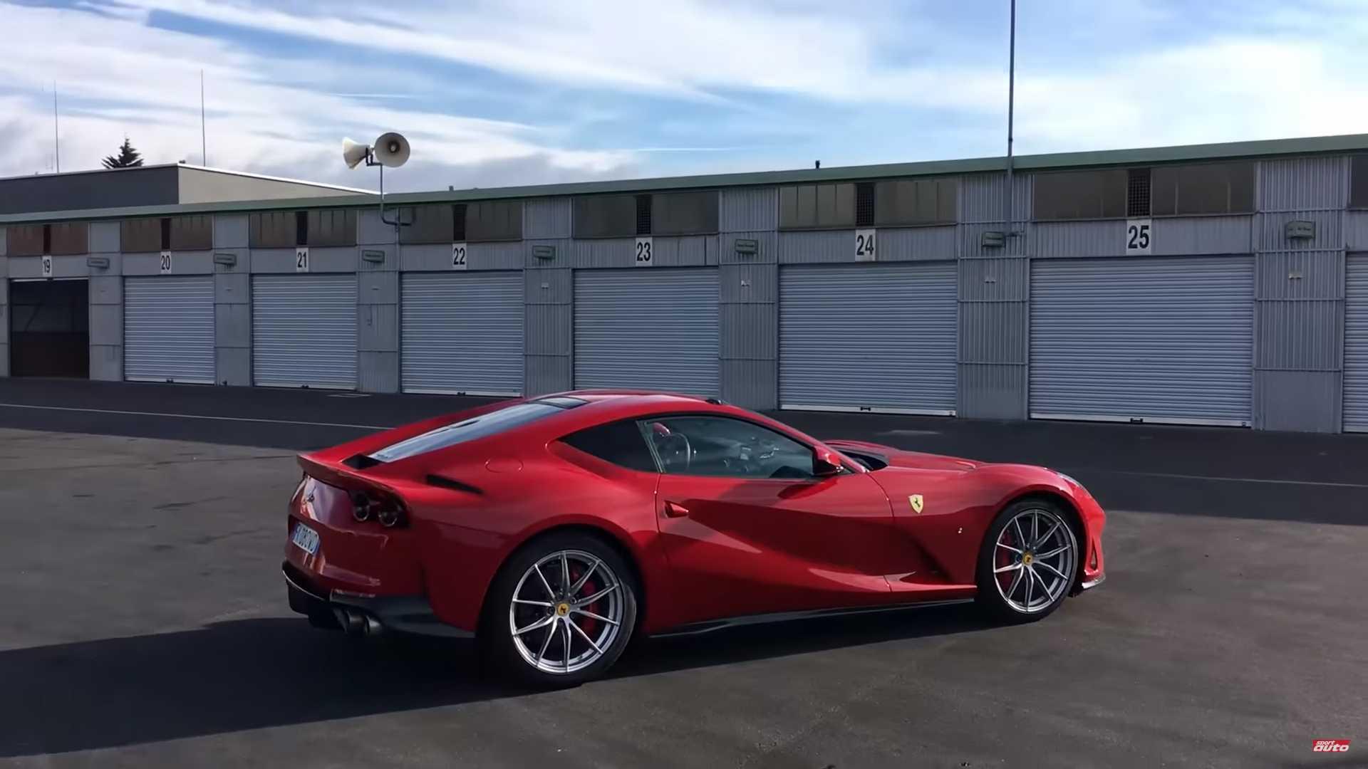 Ferrari 812 GTO prototipi yenə diqqət çəkdi