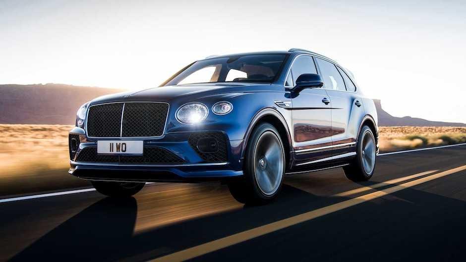 Bentley Bentayga Speed modelini təqdim edib
