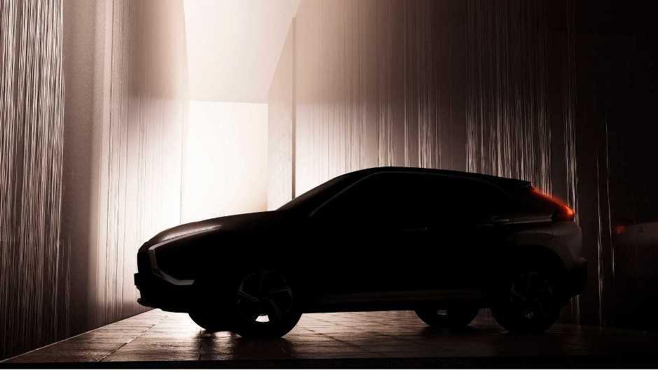 Mitsubishi yenilənmiş Eclipse Cross modelinin tizerini dərc edib