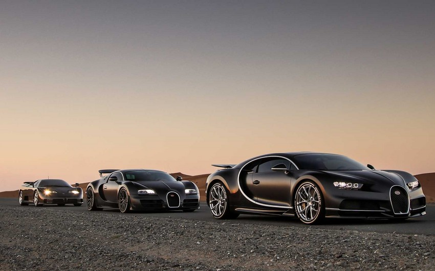 """Volkswagen"" ""Bugatti""ni satır"