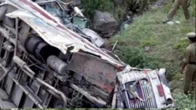 Hindistanda dəhşətli qəza-15 ölü, 24 yaralı