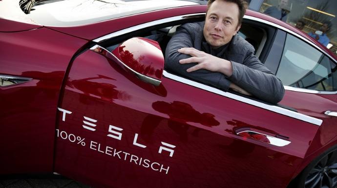 """""""Tesla""""özünün ən sürətli elektromobilini təqdim edib"""