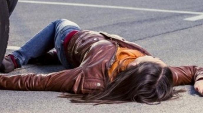 Nərimanovda gənc qız yol qəzasında yaralandı